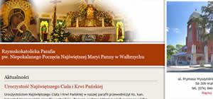 Parafia Niepokalanego Poczęcia Najświętszej Marii Panny w Wałbrzychu